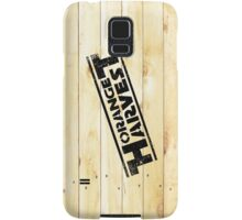 ORANGE HARVEST (DISTRESSED) Samsung Galaxy Case/Skin