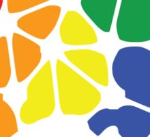 Gay Marriage Rights Australia (Rainbow Coloured Logo) - Sticker Sticker