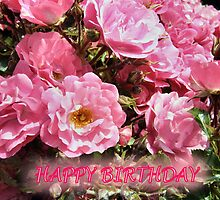 BIRTHDAY BLOOMS by Shoshonan