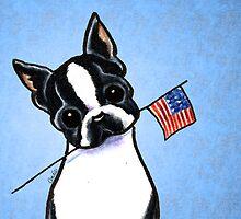 Boston in America by offleashart