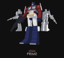 Optimus Prime - (mix) - dark T-shirt by NDVs