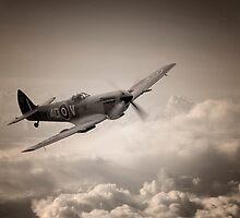 Spitfire Patrol by J Biggadike