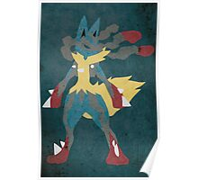 Mega Lucario Poster