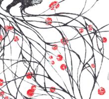 Blossom Fox Sticker