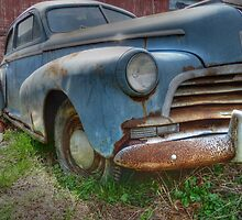 Old Abandoned Car No. 2 rural decay reclamation HDR by jemvistaprint