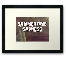 Summertime Sadness Framed Print