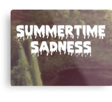 Summertime Sadness Metal Print