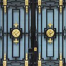 Doors, Brook Street, London, England by exvista