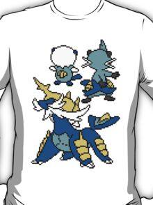 Oshawott, Dewott and Samarott T-Shirt