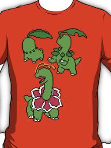 Chikorita, Bayleef and Meganium T-Shirt