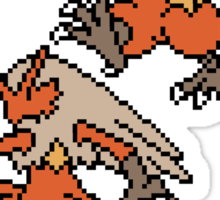 Torchic, Combusken and Blaziken Sticker