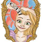 Rapunzel Cancer Awareness  by EmRachArt92