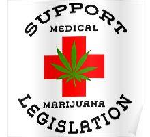 Support Medical Marijuana Poster