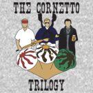 The Cornetto Trilogy by stevebluey