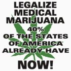 Legalize Medical Marijuana NOW! by MarijuanaTshirt