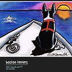 Boston Terriers Off-Leash Art™ Vol 1 by offleashart