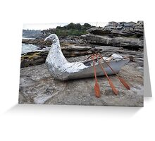 Bird/Boat, Sculptures By The Sea, Australia 2012 Greeting Card