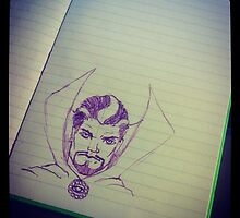 Doctor Strange sketch by Joe Douglas