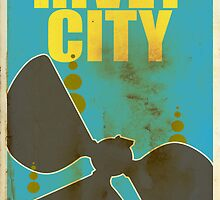 Travel poster Rivet City by cloakrunner