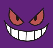Pokémon - Gengar Face by carnivean