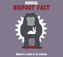 Bigfoot is kind to all animals by DiabolickalPLAN