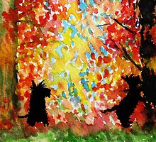 Scottish Terriers by archyscottie