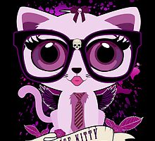 Nice Kitty - Black & Purple by Adamzworld