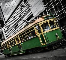 Iconic Melbourne Tram by DQ-Images