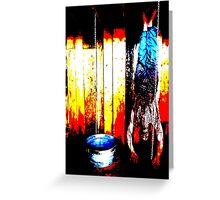 Who Will Survive and What Will Be Left of Them? Greeting Card