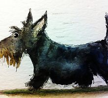 Scottie Dog 'On A Mission' by archyscottie