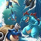 Water starters by warriorhel3