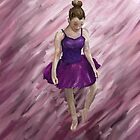 Ballet Dancer In Purple by Katy177
