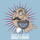 Don't Panic, Im British by satansbrand