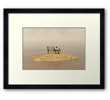 Bored With This Place Framed Print