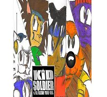 Kid Soldier Ipad case (2008) by TakeshiUSA