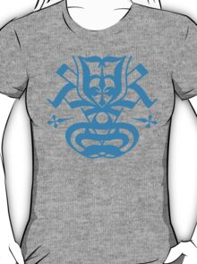 Typo Samurai - Cyan T-Shirt