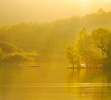 Rydal Summer Evening by John Dunbar