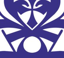 Typo Samurai - Navy Sticker