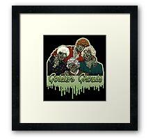 Golden Ghouls Framed Print