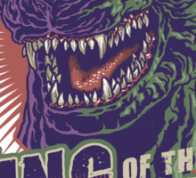 King of the Kaiju Sticker