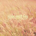 Make Each Day by Nicola  Pearson