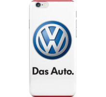 VW Logo Das Auto iPhone Case/Skin