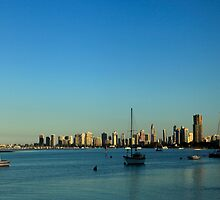 The Gold Coast Broadwater by Noel Elliot