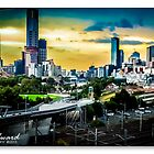 Melbourne Skylines by James Millward