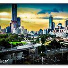 Melbourne Skylines by James Millward