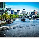 Melbourne Skyline #3 by James Millward