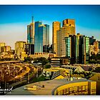 Melbourne Skyline #4 by James Millward