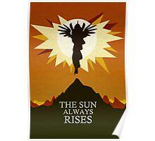 The Sun Always Rises - Princess Celestia Print Poster