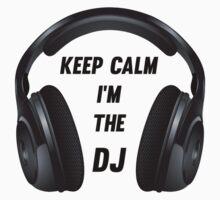 Keep Calm I am the DJ Kids Clothes