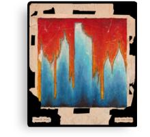 Burning City (25 Yrs of Damage) Canvas Print